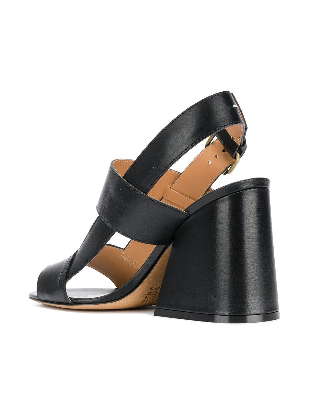 classic open-toe sandals - Black Maison Martin Margiela NCE4Rs