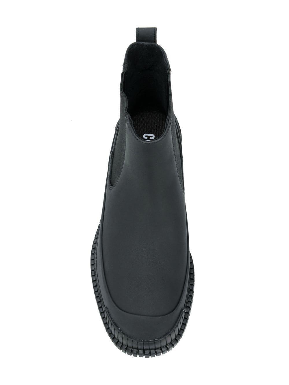 Botines con diseño por el tobillo Camper de Cuero de color Negro para hombre