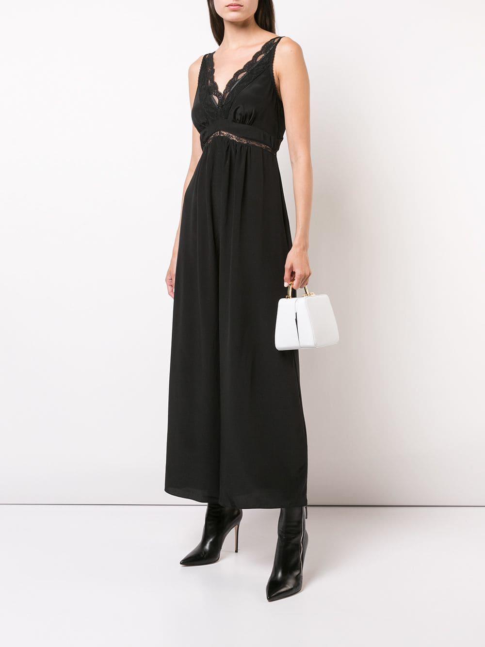 43783c66ca3 Lyst - Zimmermann Lace Slip Jumpsuit in Black