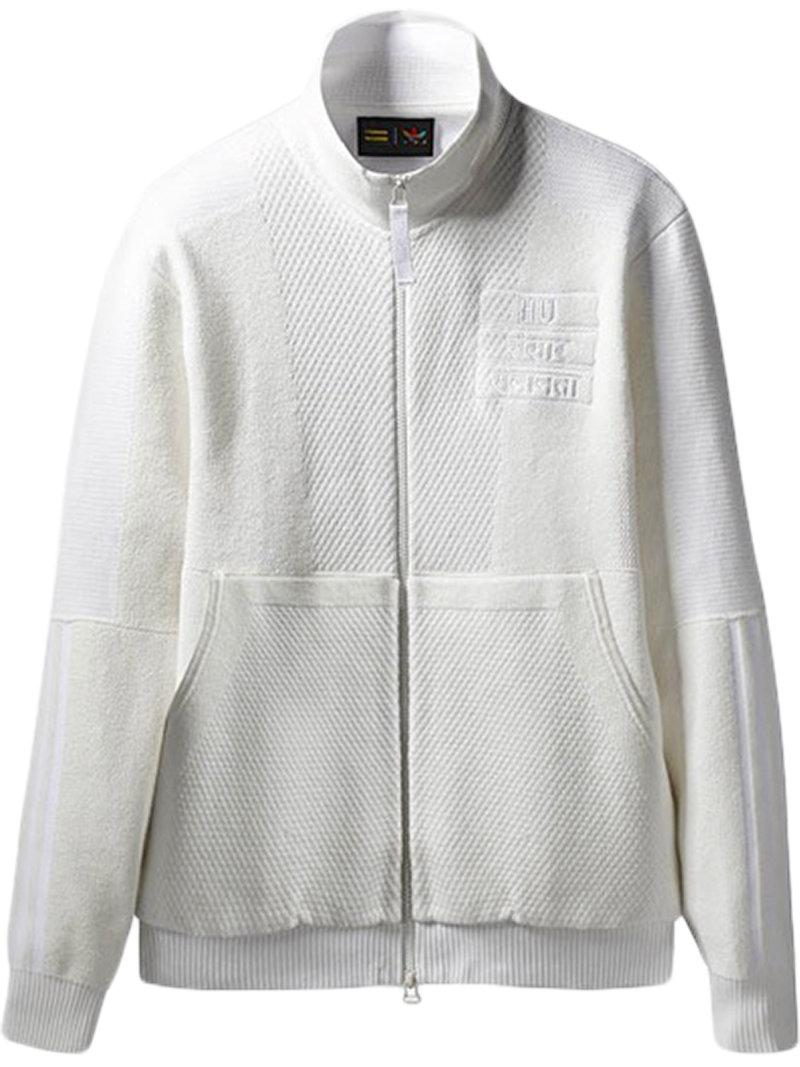 7000c9201e Lyst - adidas X Pharrell Williams Hu Holi Track Jacket in White for Men