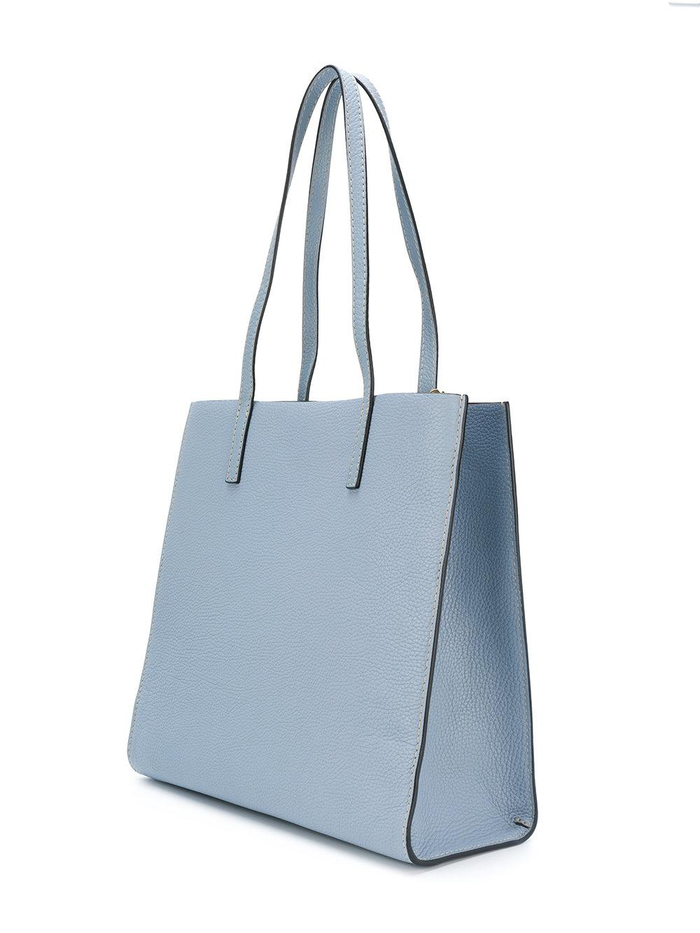 Marc Jacobs Leather The Bold Grind Tote in Blue