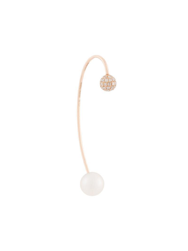 Asherali Knopfer 18k Rose Gold Kaiarg Diamond earring - Metallic UavgNDGO