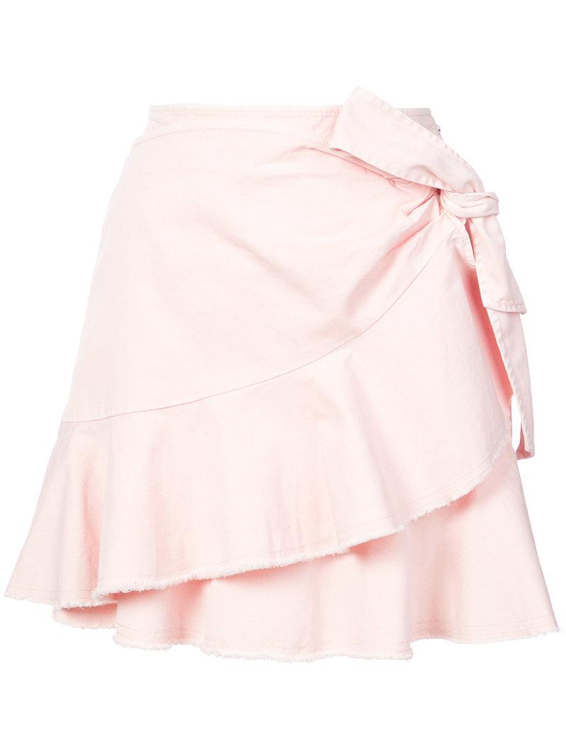 ruffled a-line skirt - Pink & Purple Cinq à Sept Clearance Perfect aP9QoU