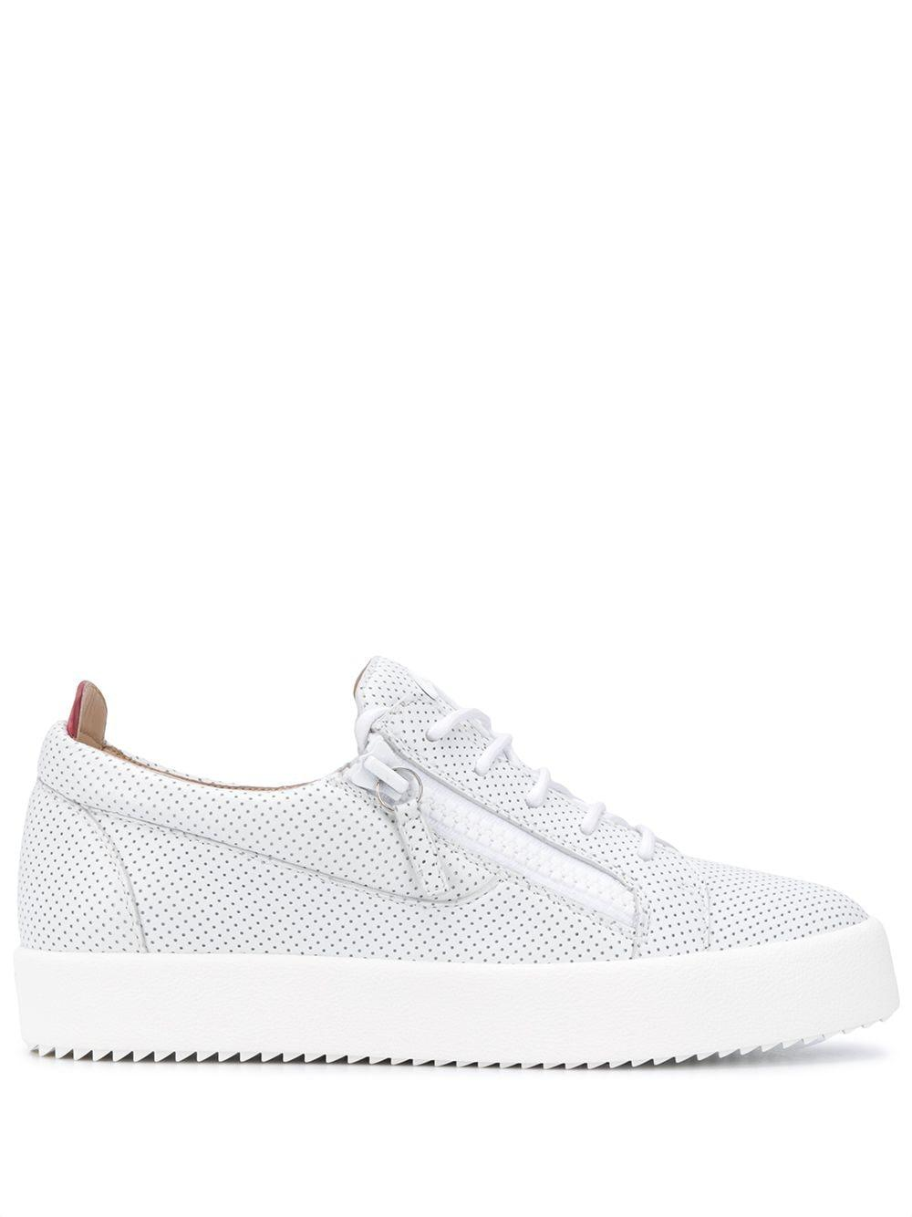 Frankie Zip-detail Sneakers