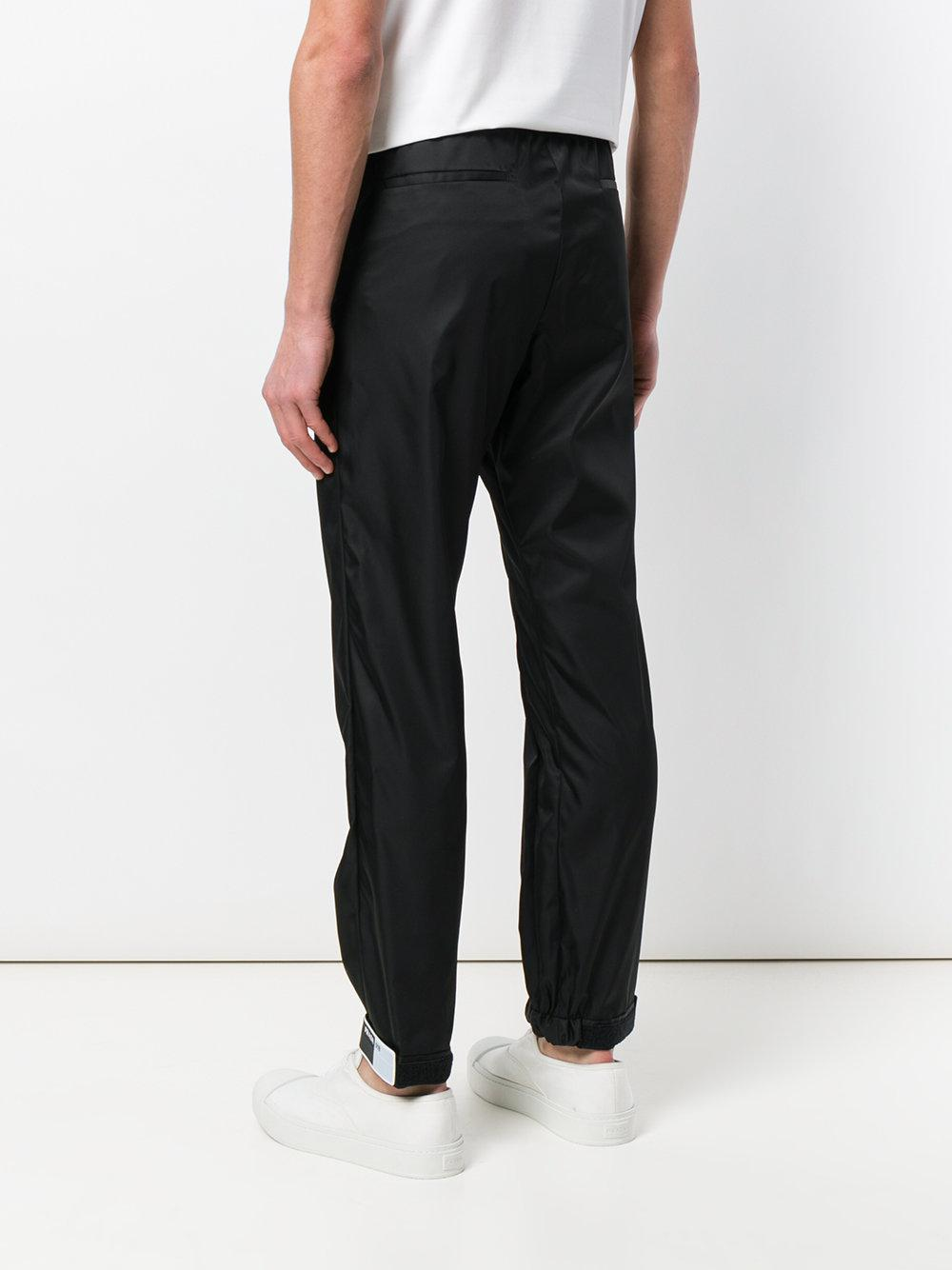 0c38b314 Men's Black Brand Patch Track Pants