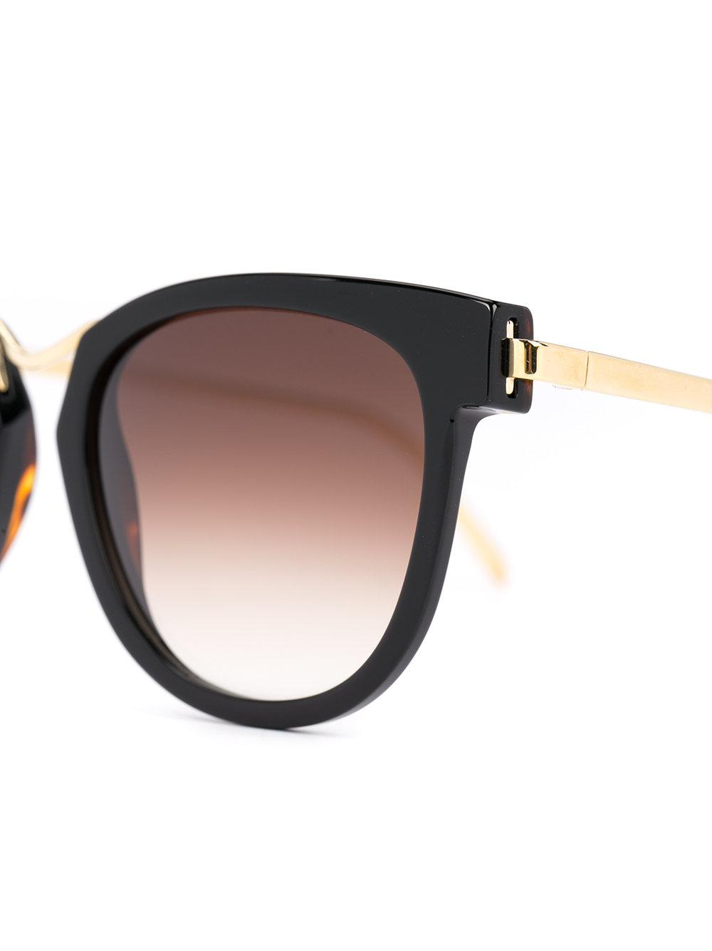 Thierry Lasry Square Frame Sunglasses in Black