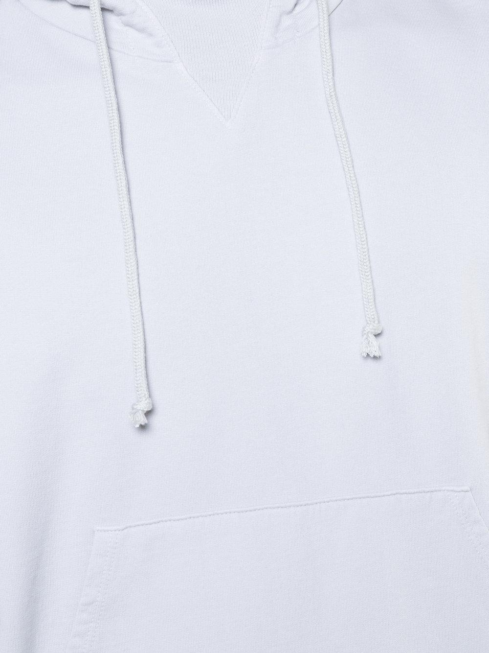 John Elliott Cotton Kake Mock Pullover Hoodie in Grey (Grey) for Men