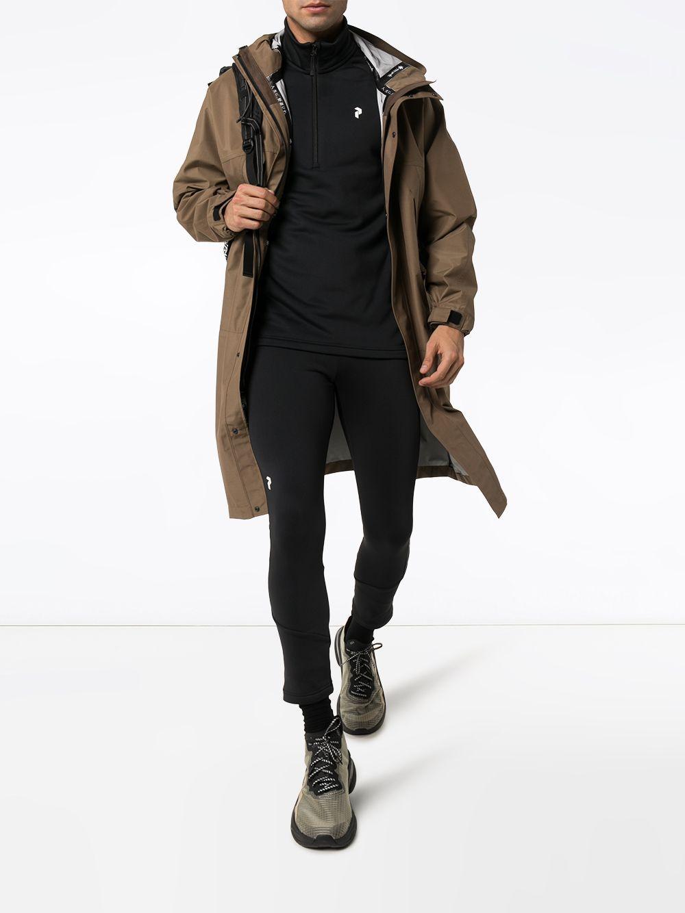 Peak Performance Synthetisch Sweater Met Halve Rits in het Zwart voor heren