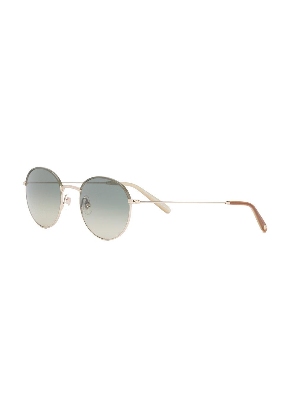 Garrett Leight Cloy Sunglasses in Green for Men