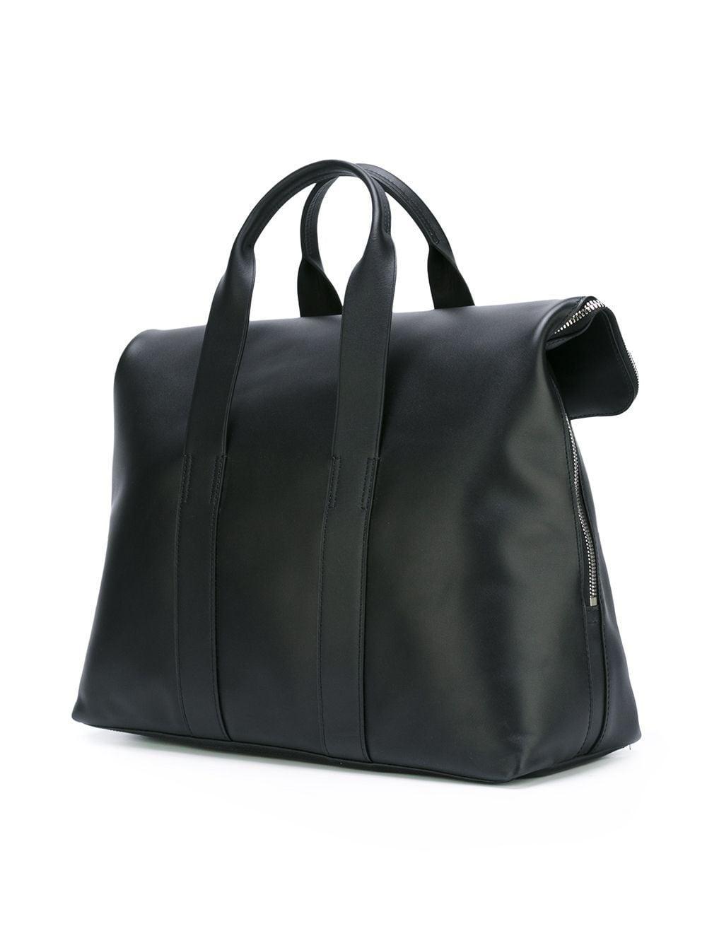 3.1 Phillip Lim Leder '31 Hour' Handtasche in Schwarz gFKUF