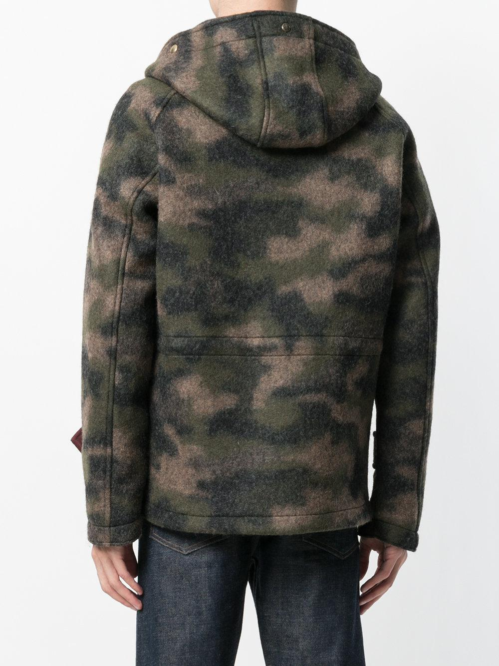 Equipe 70 Wool Camouflage Print Jacket for Men