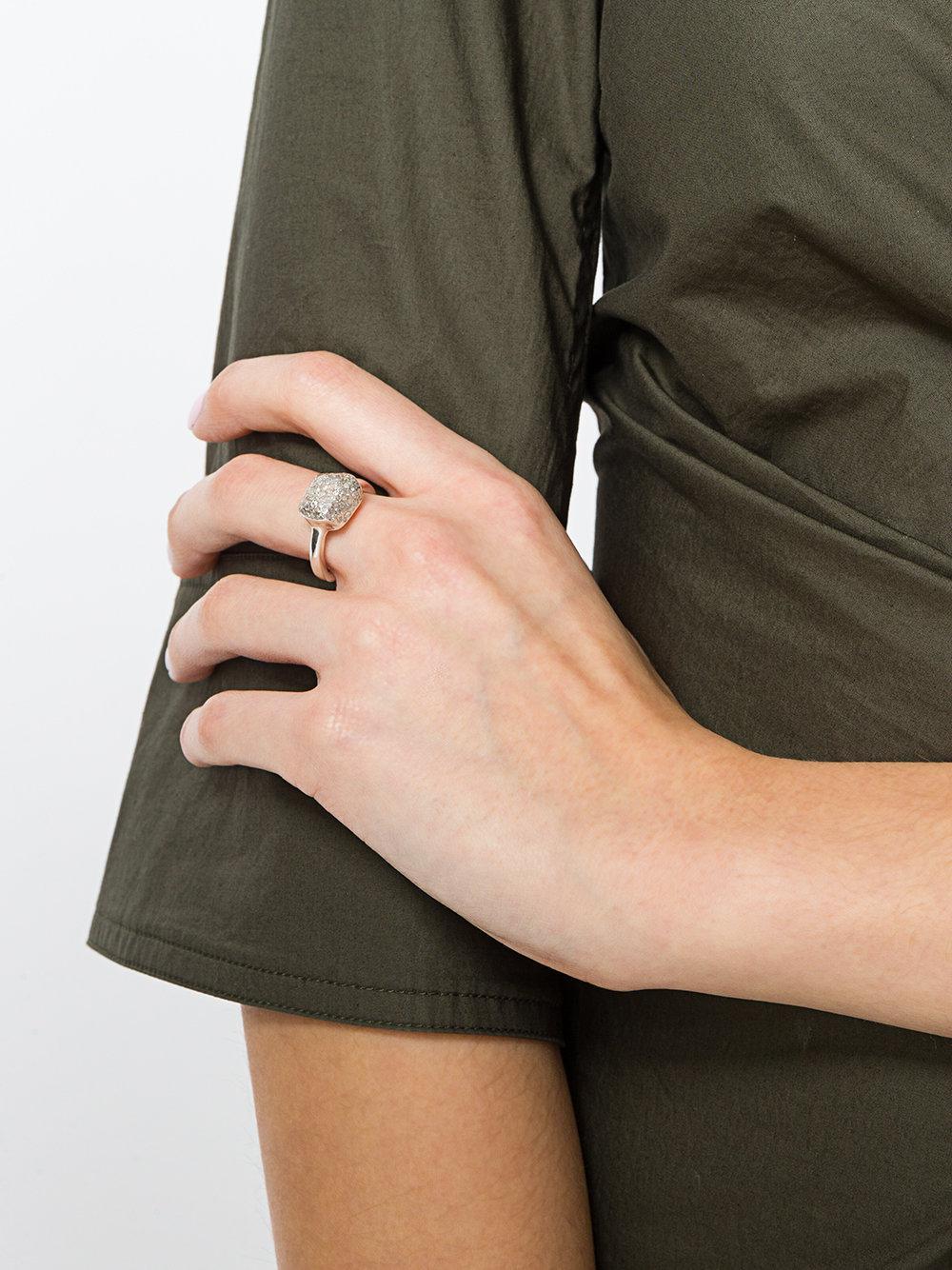 Rosa Maria Sohordia Ring in Metallic