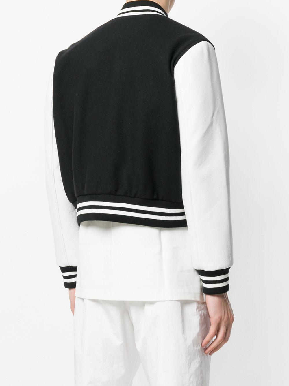 MISBHV Wool Bomber Jacket in Black for Men