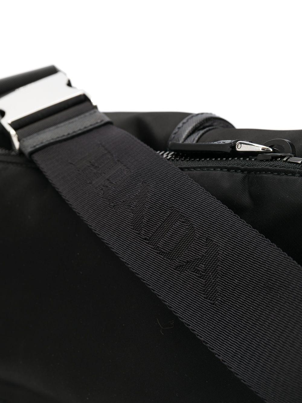 Sac banane à poches multiples Synthétique Prada pour homme en coloris Noir