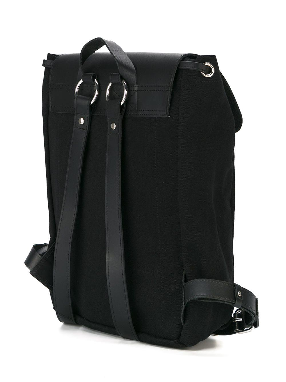 Sandqvist Leather 'alva' Backpack in Black