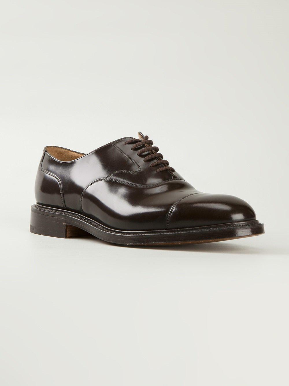 Church's Leather 'lancaster' Oxford Shoes in Brown for Men