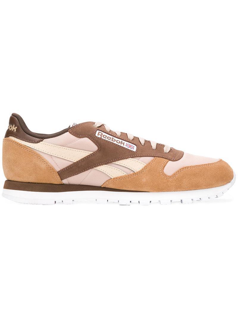 colour block sneakers - Brown Reebok 7hfQ3vM31e
