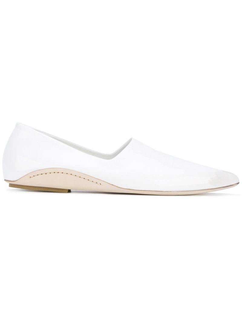 MARSèLL Patent pointed toe slippers YlKO64GS