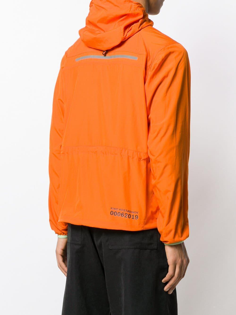 Kiko Kostadinov Windjack in het Oranje voor heren