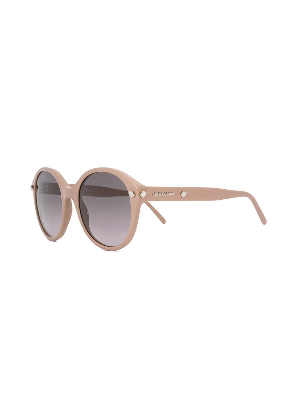 Jimmy Choo Mores Sunglasses in Brown