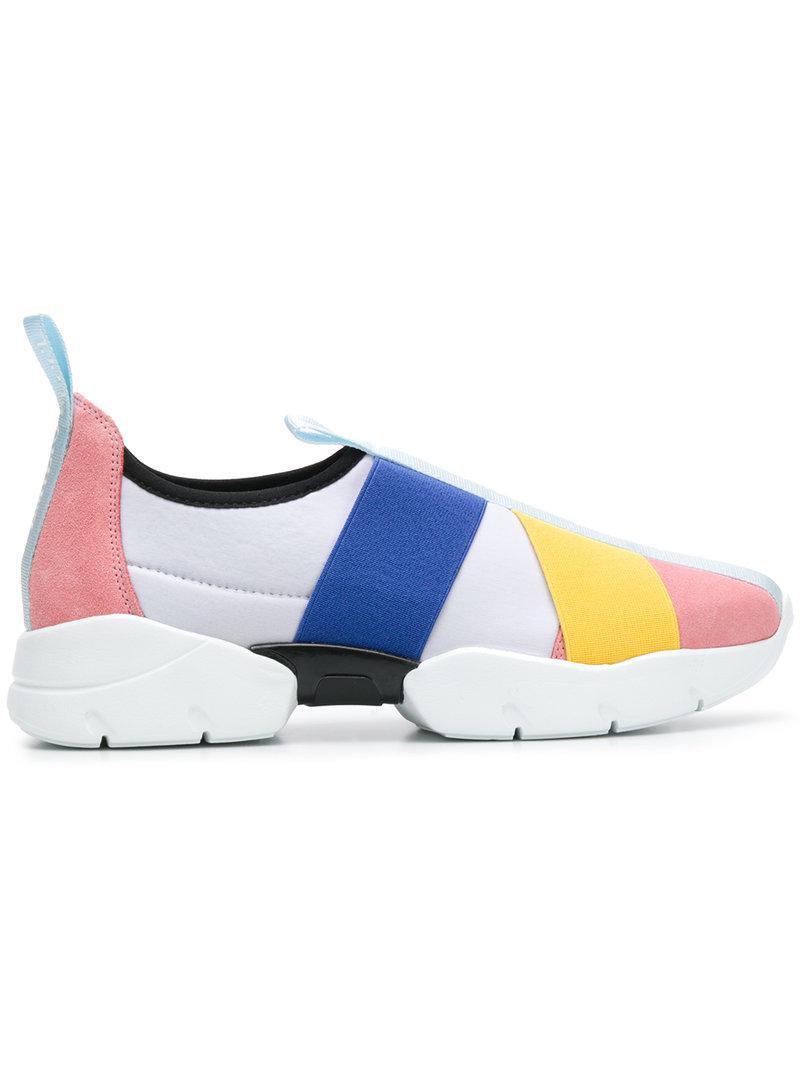 strap detail sneakers - Grey Emilio Pucci inxFKBTN
