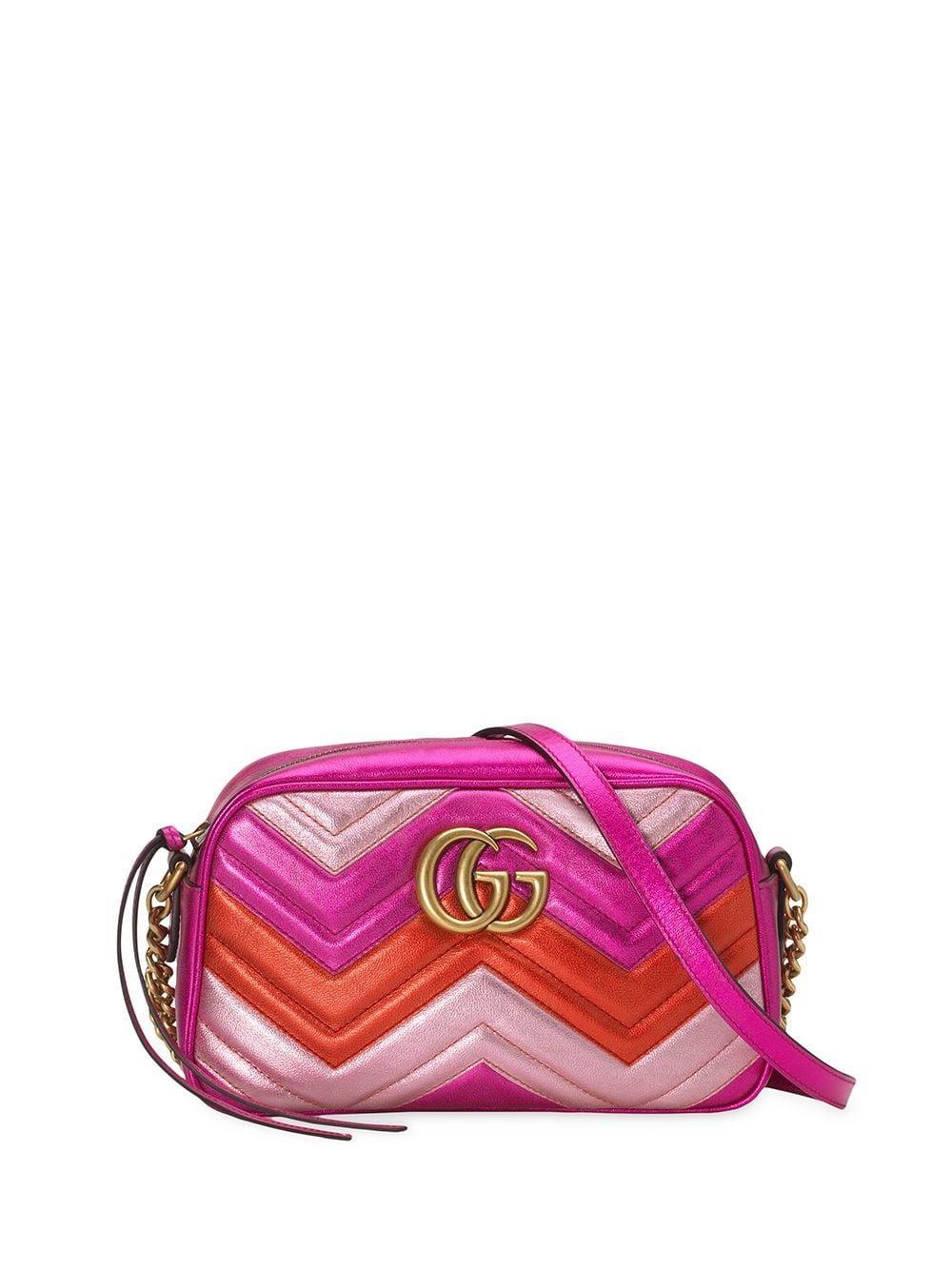 Hombro Rosa Marmont Color Gg Bolso Mujer De v0n8OwmN