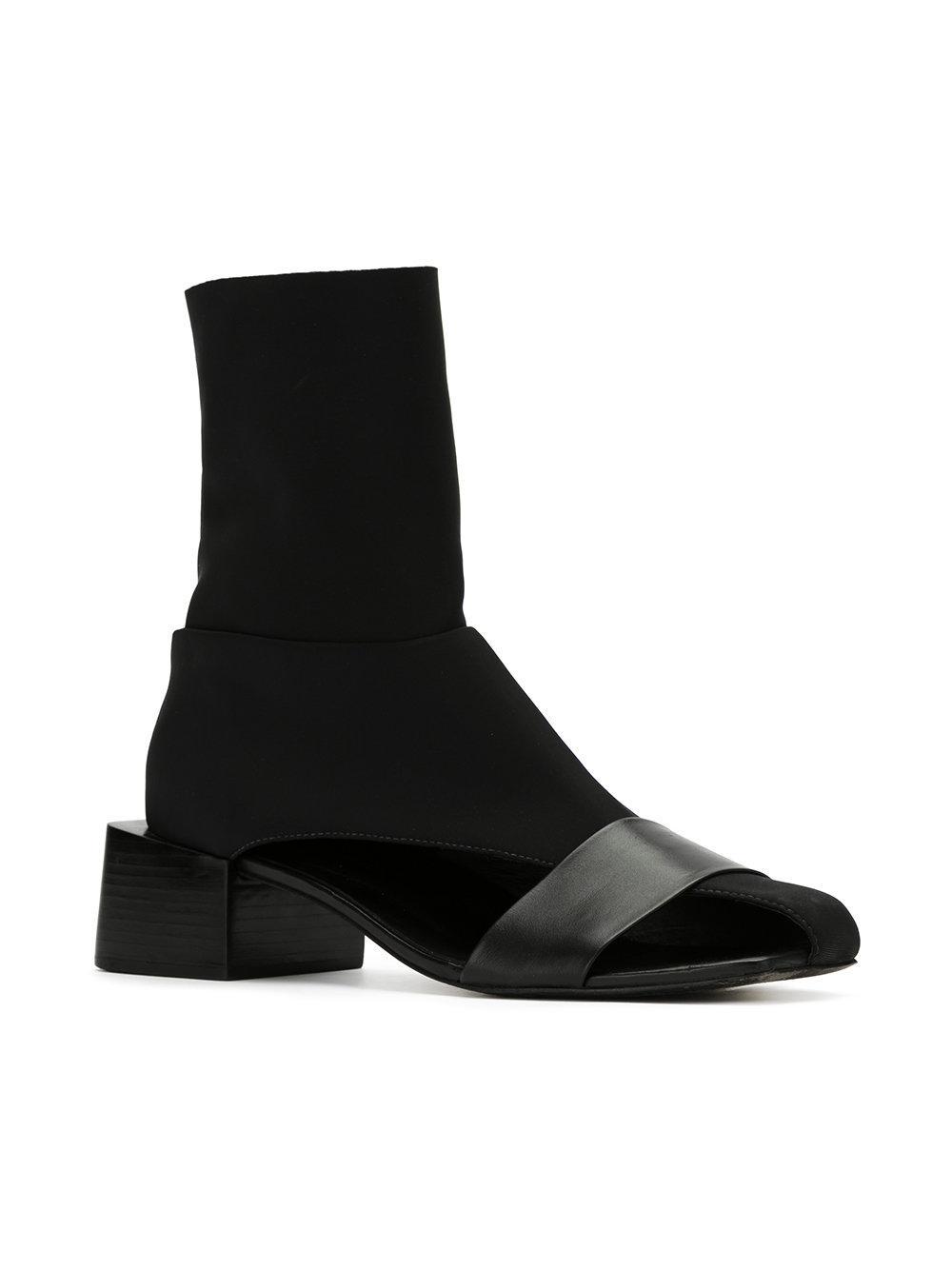 Real Gloria Coelho Luva boots - Black farfetch neri Precio Más Barato En Línea Barato WRNLmLN