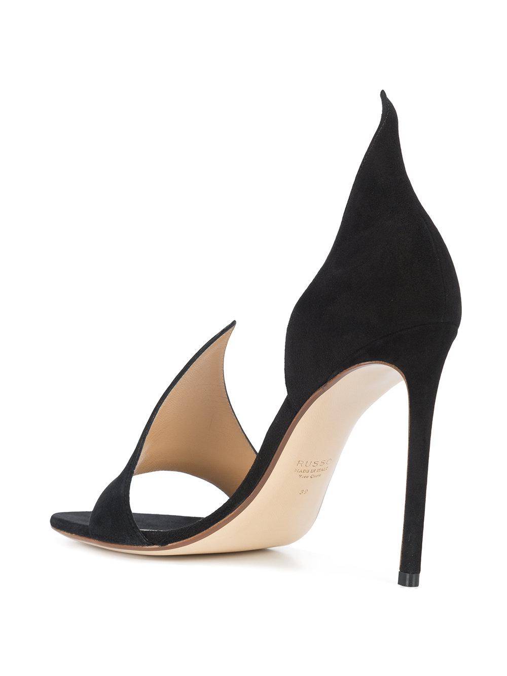 Cheap Sale Buy Great Deals Cheap Price Francesco Russo Pointed strap pumps Cheap Price Wholesale Price Buy Cheap Recommend Free Shipping Very Cheap 2tyDAyEz