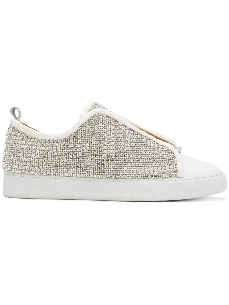 crystal sneakers - White Black Dioniso Fa5ql