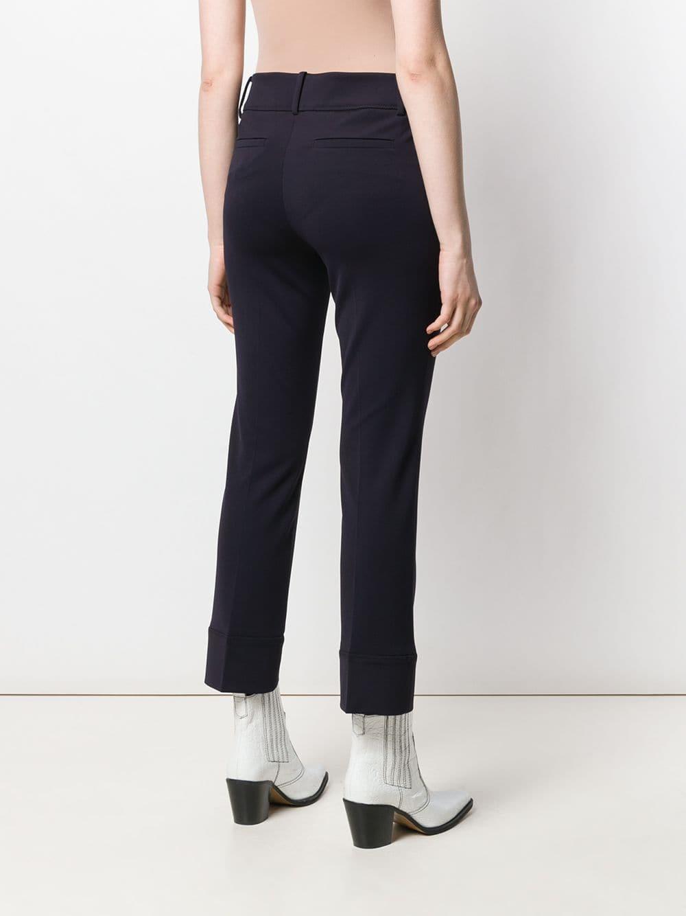 Pantalon droit classique Synthétique Cambio en coloris Bleu