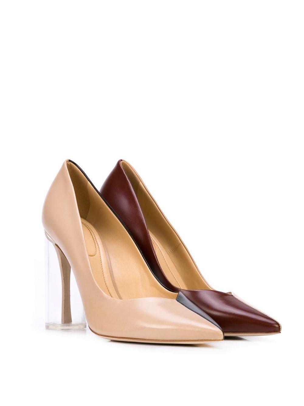 Escarpins bicolores Synthétique Rosie Assoulin en coloris Marron