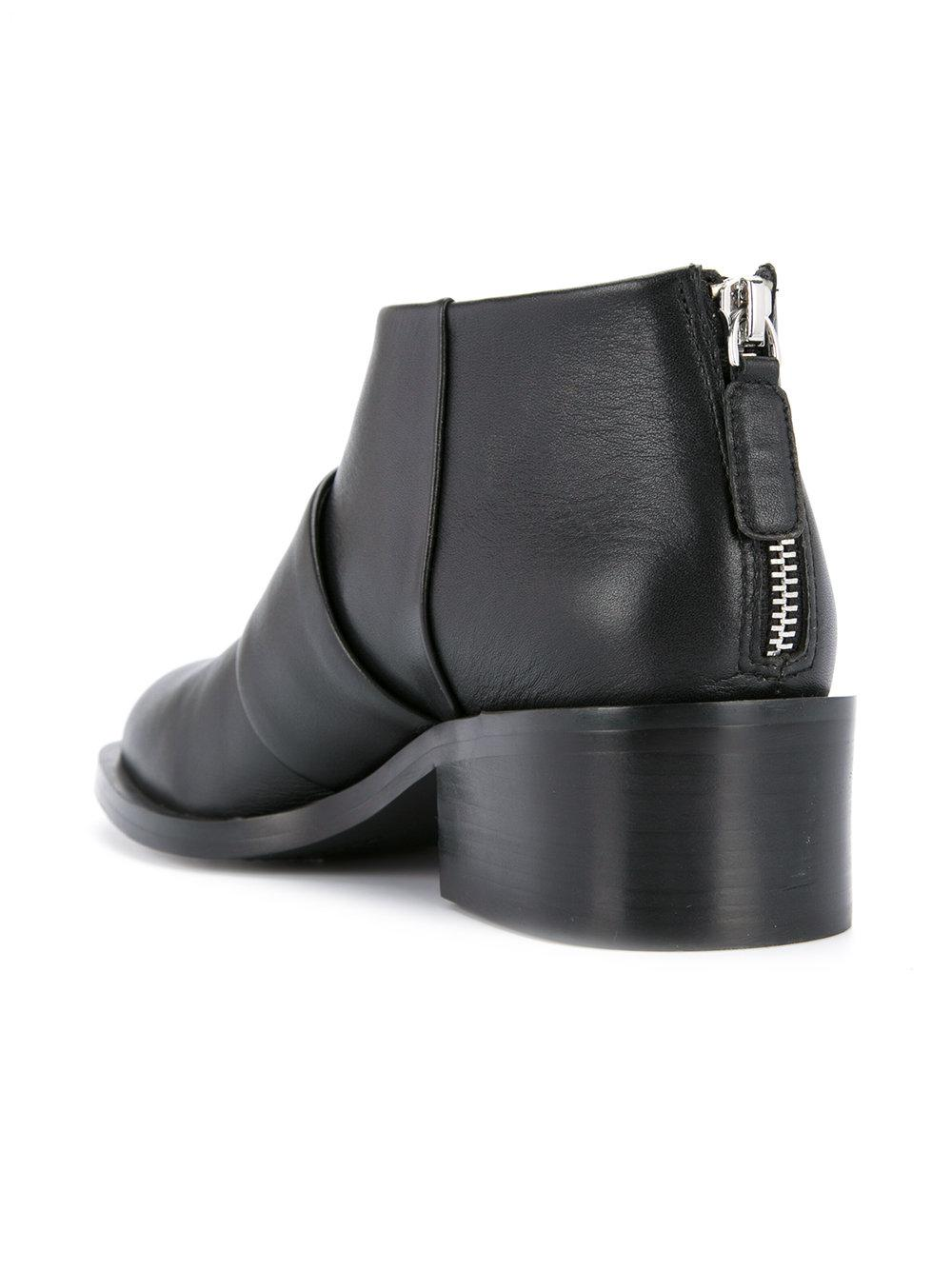 Senso Leather Dion I Boots in Black