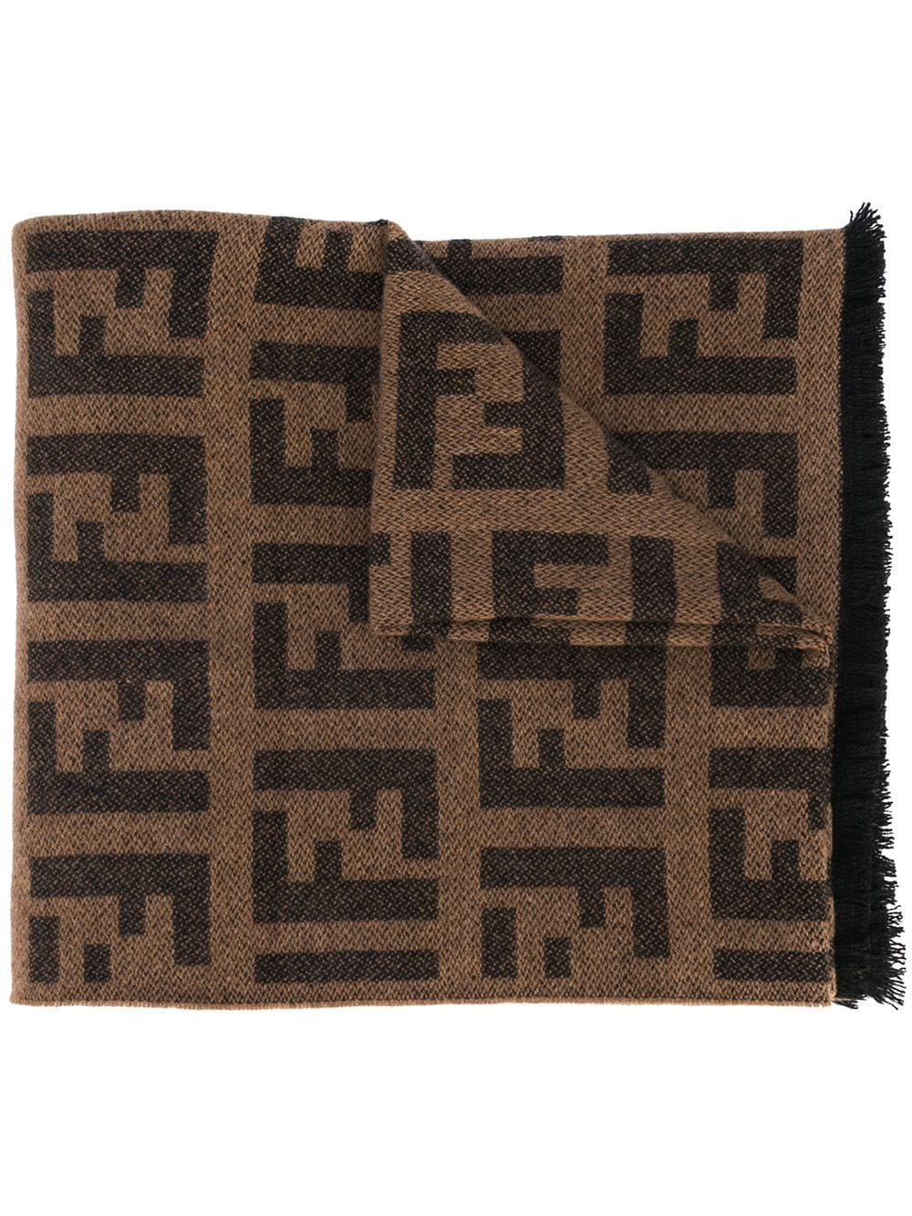 Seamless Pattern With Fendi Logo Design For 1