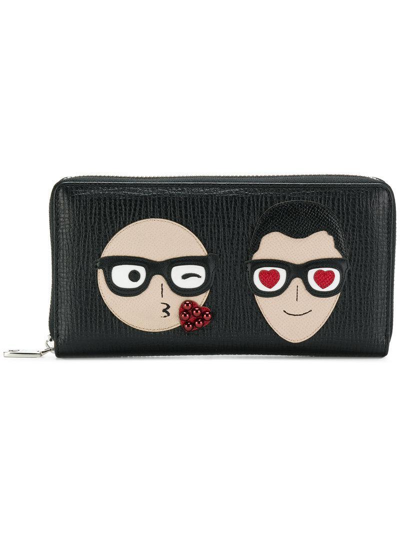 Dolce & Gabbana Designers patch wallet WgFFS