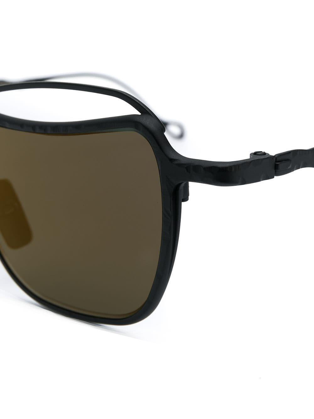 Sunglasses Kuboraum Tinted Lyst Square Black In 14 Save HED92YWI