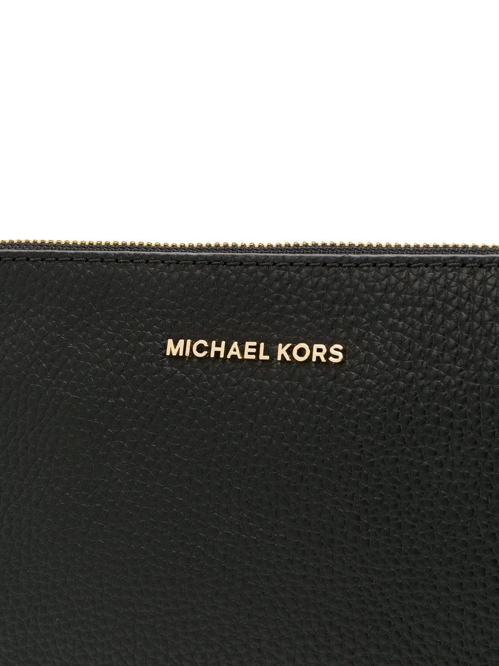 Sac à bandoulière zippé Cuir MICHAEL Michael Kors en coloris Noir