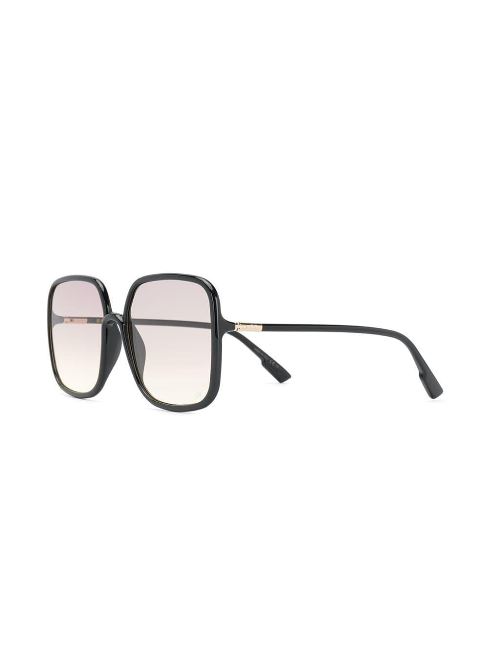 6429d41bc352c Dior Sostellaire1 Glasses in Black - Lyst
