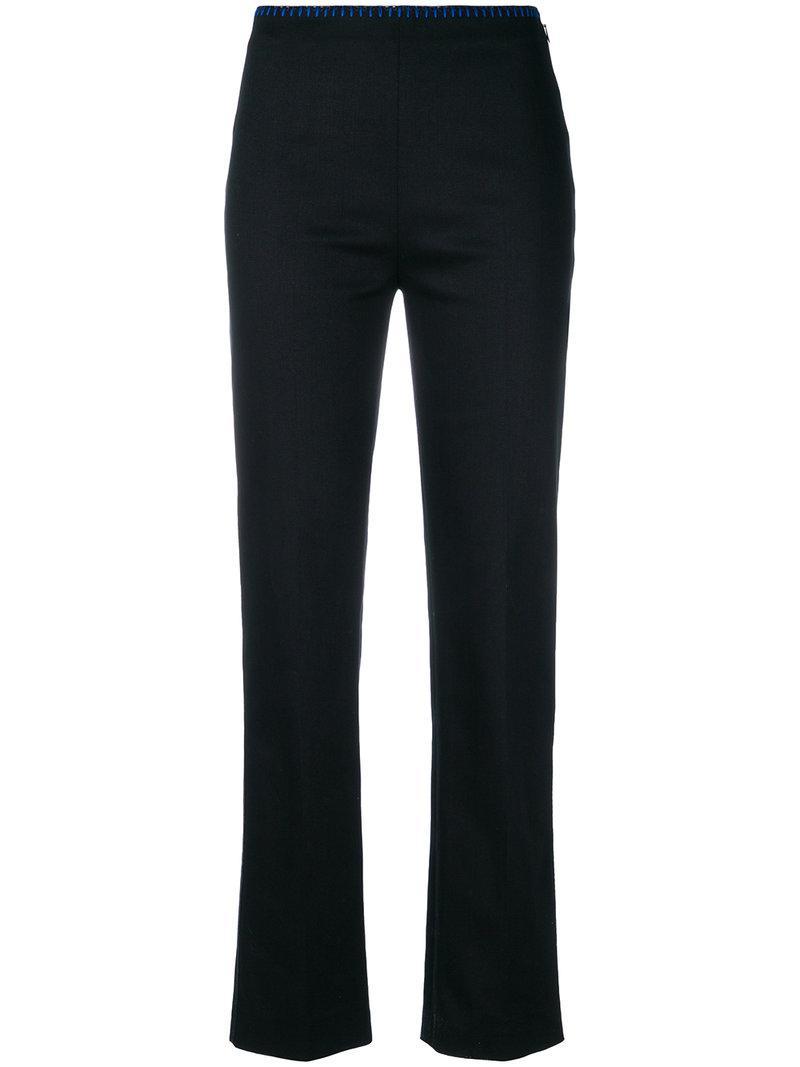 Pantalon Sur Mesure - Équipé Fendi Bleu q4MN5AoiDN