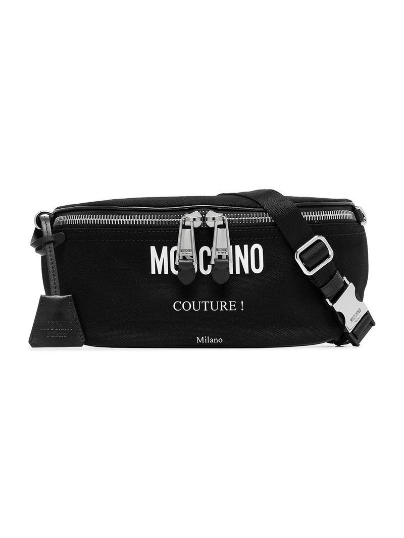 57202229e95 Moschino Clutch Bags A7704 8201 2555 in Black for Men - Lyst