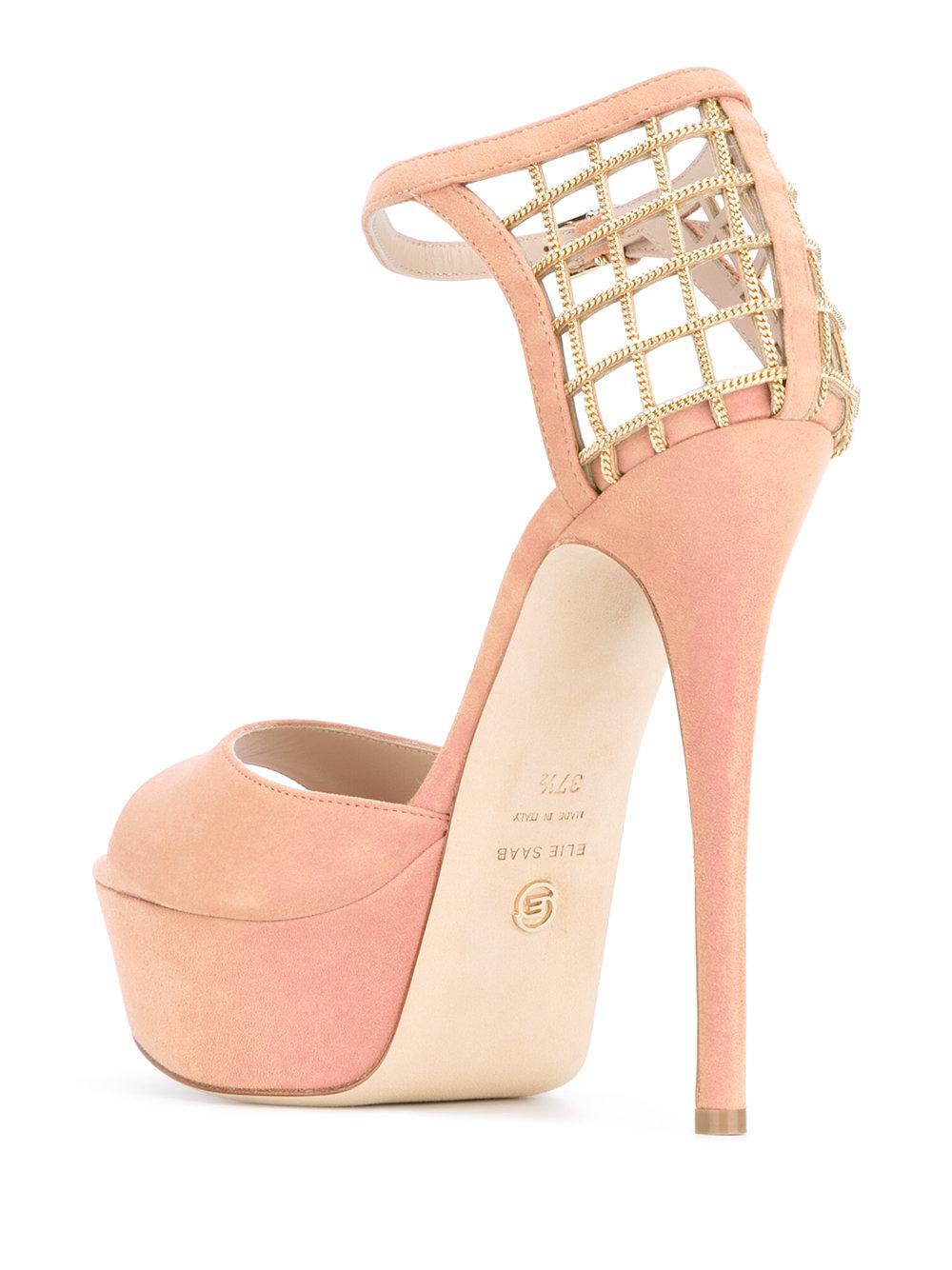 platform sandals - Nude & Neutrals Elie Saab nPAser