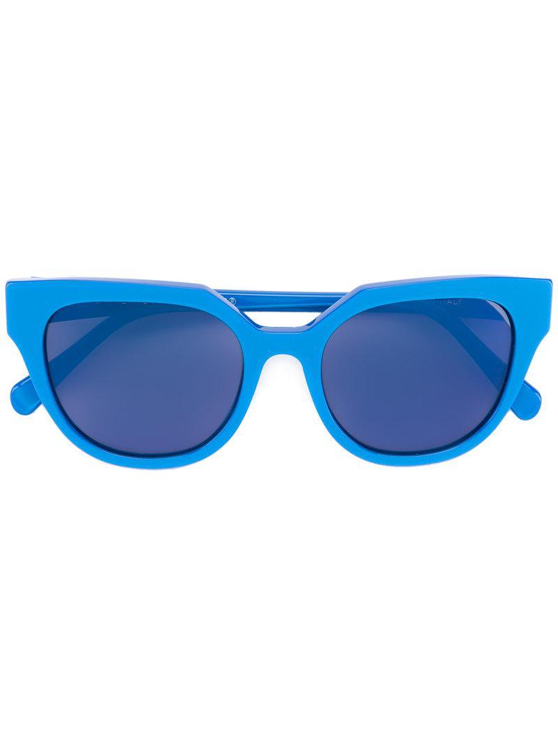 e0cad3041f Gafas de sol Zizza Opaco Blue Retrosuperfuture de color Azul - Lyst