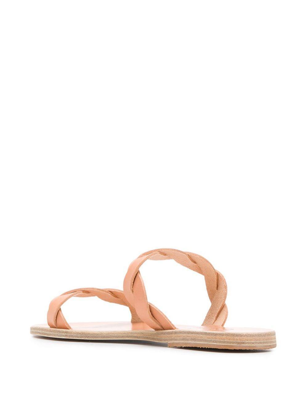 Sandales Skiriani Cuir Ancient Greek Sandals en coloris Rose
