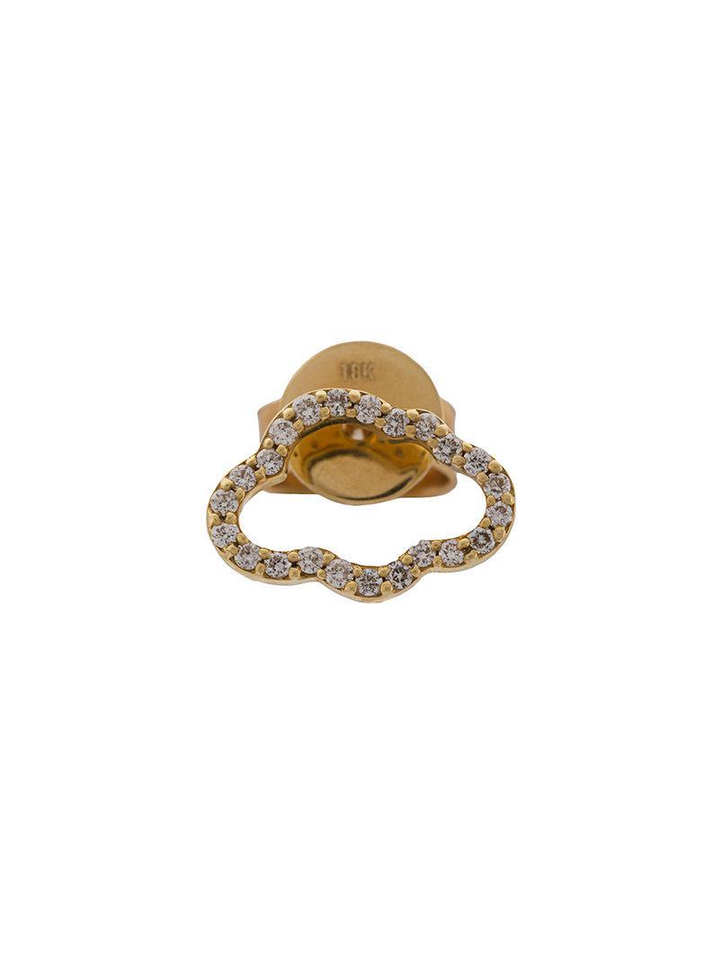 Khai Khai Cloud Stud earring - Metallic dtxLc