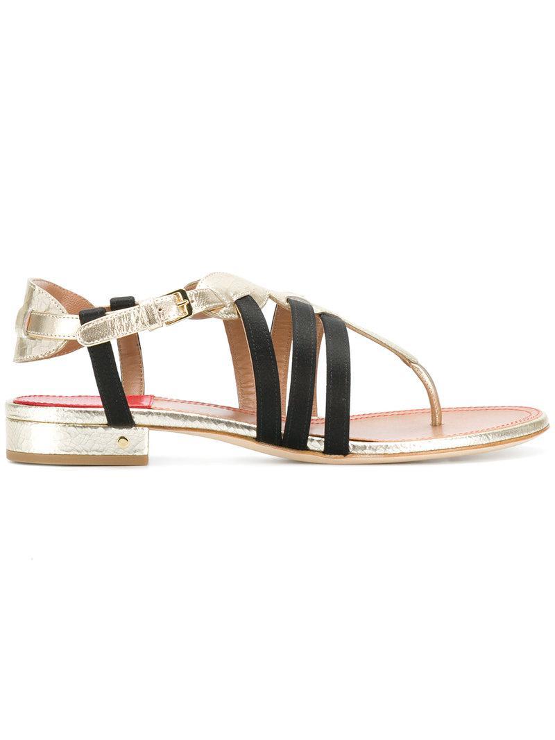 Renin sandals - Metallic Laurence Dacade M0rL8f2