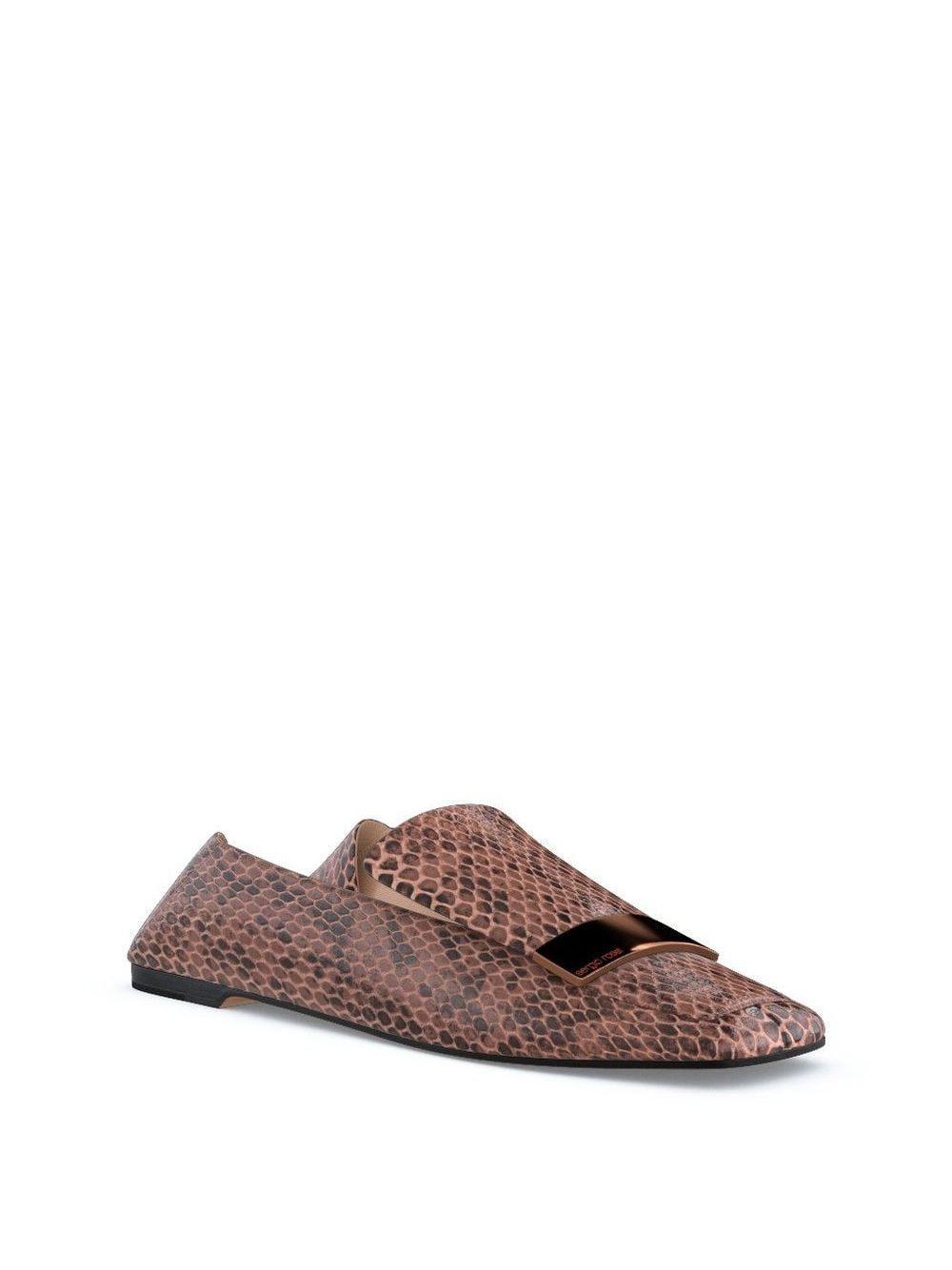 Slippers sr1 personalizables Sergio Rossi de color Rosa
