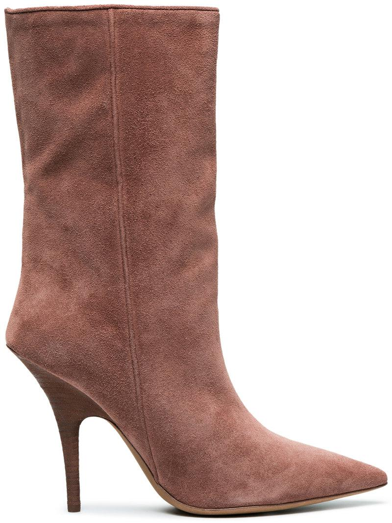 598310814b9 Lyst - Yeezy Tubular Ankle Boots in Brown - Save 17%