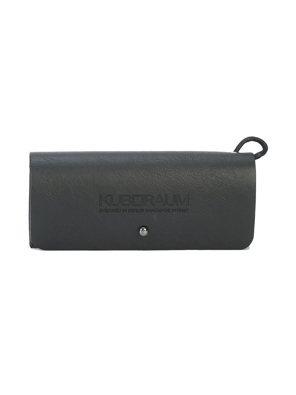 Kuboraum Round Tinted Sunglasses in Grey (Grey)