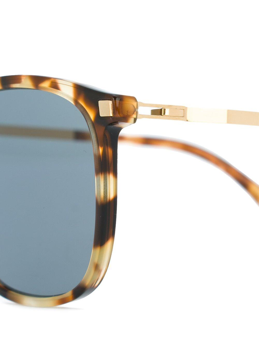 Mykita Tortoiseshell Sunglasses in Brown