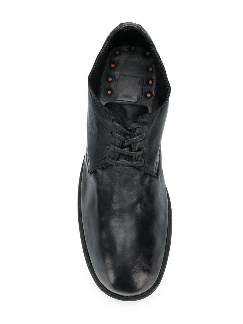 quality design 17f45 261fd Guidi Derby-Schuhe aus Pferdeleder in Black für Herren