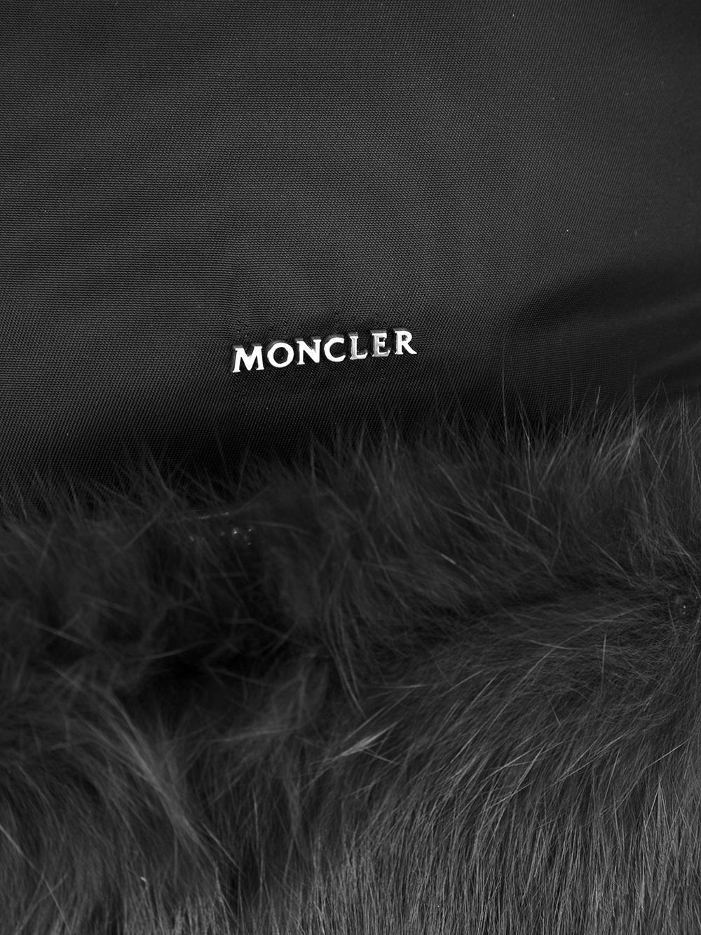 Moncler Fur 'florine' Backpack in Black